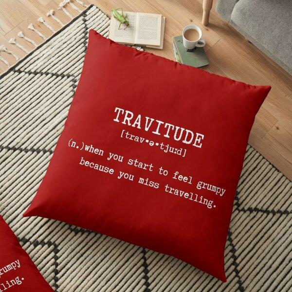 Travitude (Red) Floor Pillow