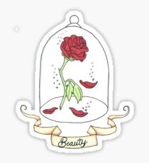 Beauty Rose Sticker 286 And The Beast