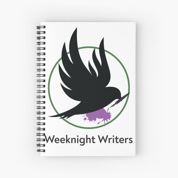 Weeknight Writers Logo Color Spiral Notebook