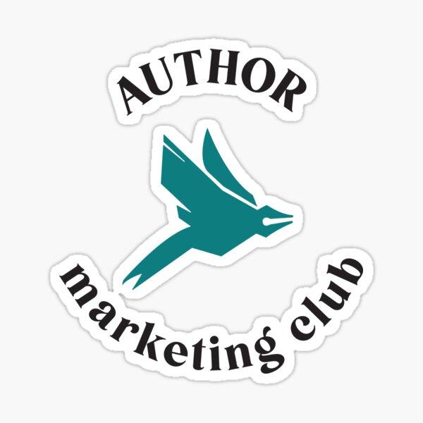 Author Marketing Club Logo - Color Sticker