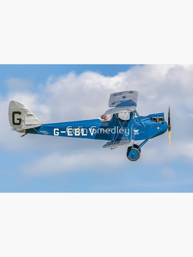 De Havilland DH60 Cirrus Moth G-EBLV by oscar533