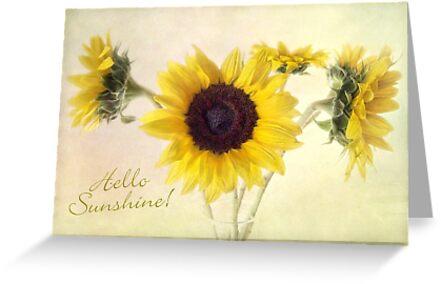 Hello Sunshine Card by LouiseK