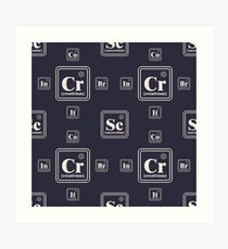 Chemistry of the business Art Print