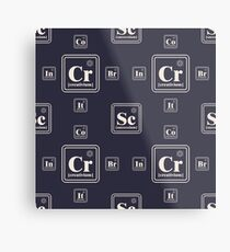 Chemistry of the business Metal Print