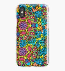 Psychedelic LSD Trip Ornament 0006 iPhone Case/Skin