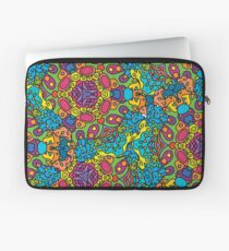 Psychedelic LSD Trip Ornament 0006 Laptop Sleeve
