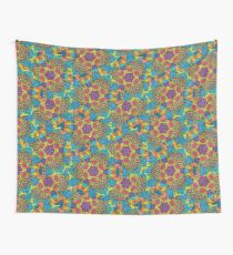 Psychedelic LSD Trip Ornament 0006 Wall Tapestry