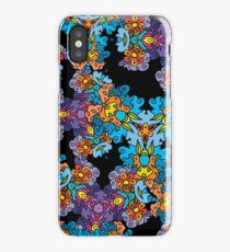 Psychedelic LSD Trip Ornament 0007 iPhone Case/Skin