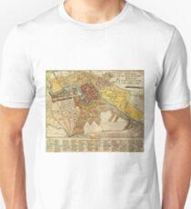 Vintage Map of Berlin Germany (1789) Unisex T-Shirt