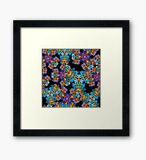 Psychedelic LSD Trip Ornament 0007 Framed Print