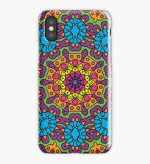 Psychedelic LSD Trip Ornament 0008 iPhone Case/Skin