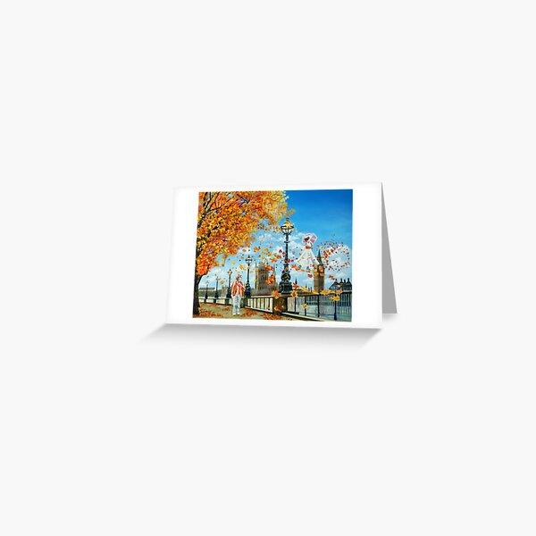"Mary Poppins painting ""Supercalifragilisticexpialidocious"" Greeting Card"