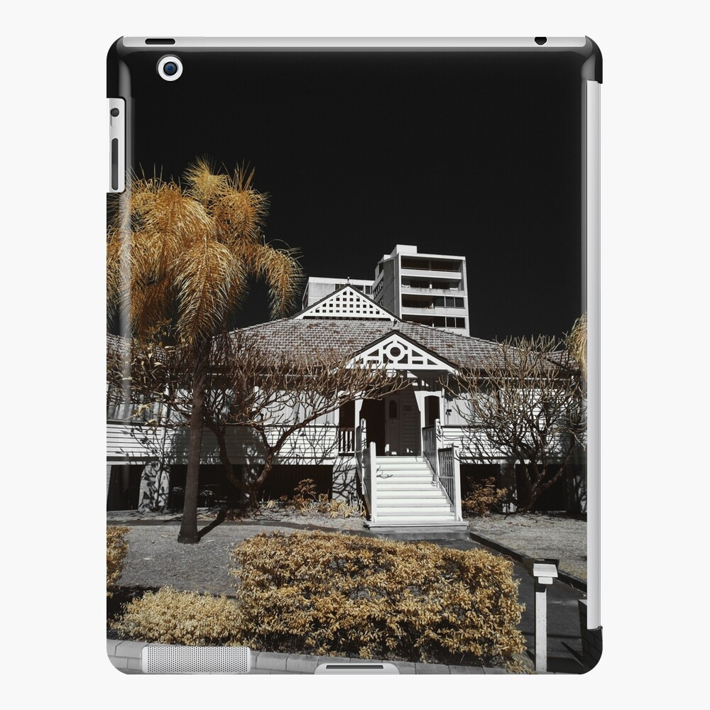 West end mansion iPad Case & Skin