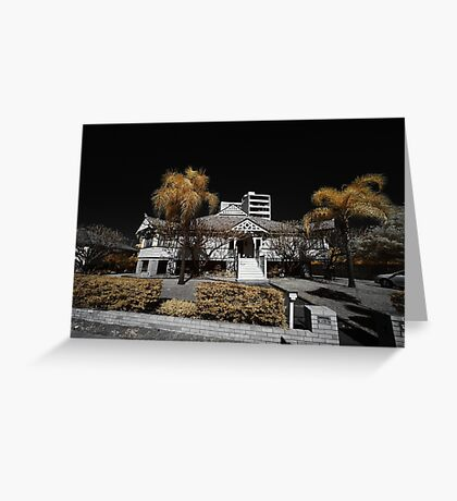 West end mansion Greeting Card