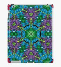 Psychedelic LSD Trip Ornament 0010 iPad Case/Skin