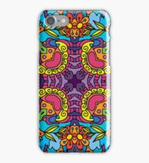 Psychedelic LSD Trip Ornament 0004 iPhone Case/Skin