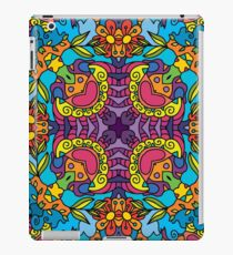Psychedelic LSD Trip Ornament 0004 iPad Case/Skin