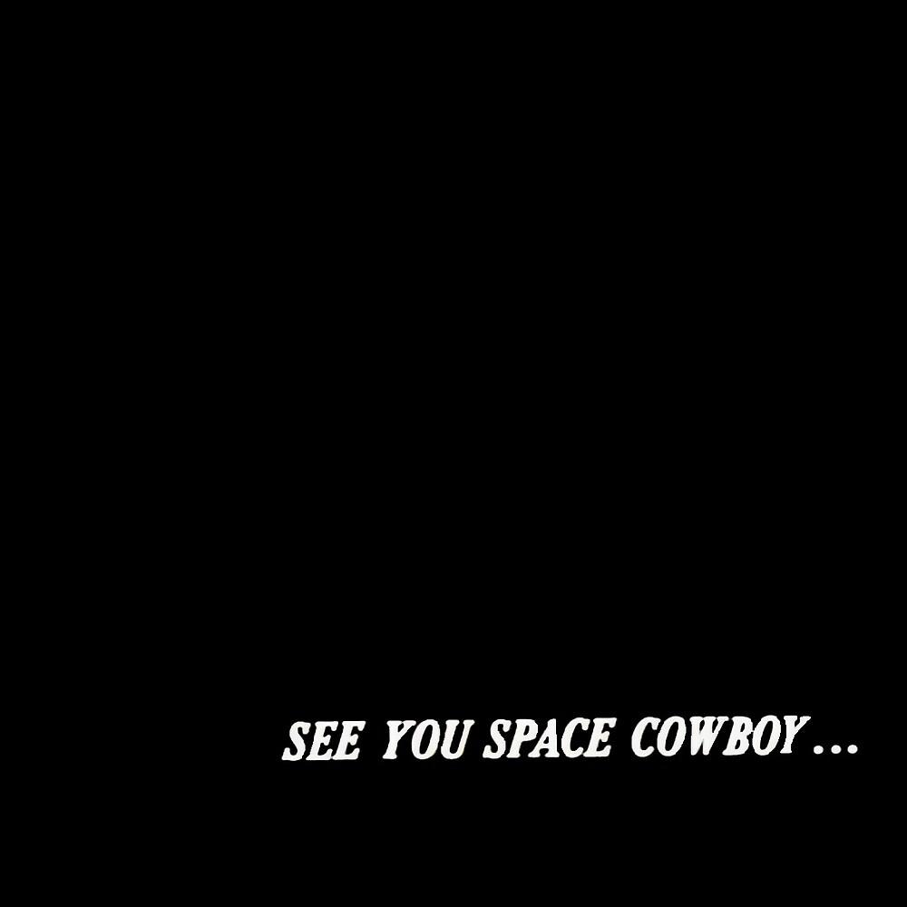 Motorcycle License Plate Cowboy Bebop See You Space Cowboy Bicycle Bike Tag