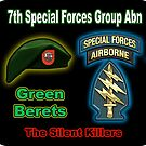 7th Special Forces Group (Abn) by woodywhip