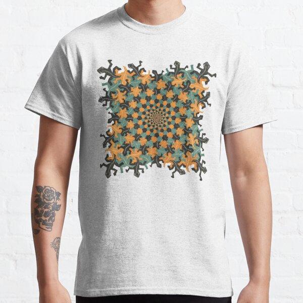 MC Escher   Development II    Classic T-Shirt