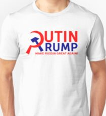 Putin Trump Make Russia Great Again Unisex T-Shirt