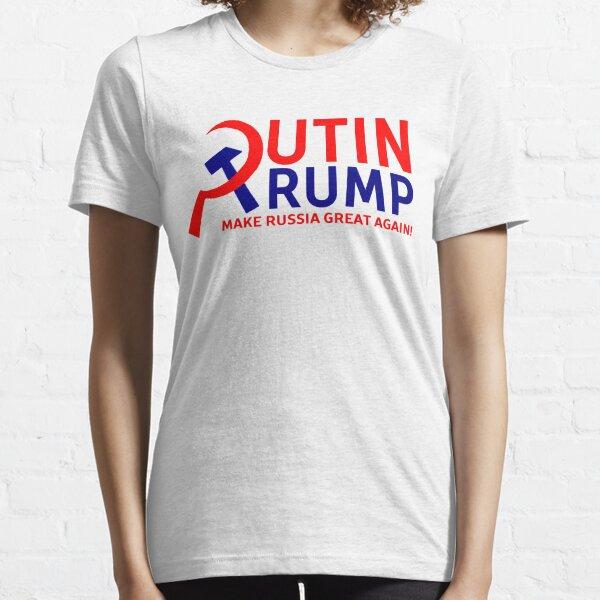 Putin Trump Make Russia Great Again Essential T-Shirt