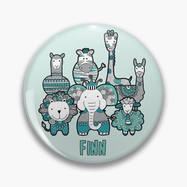Doodle Critters Finn Pin