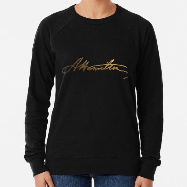 Alexander Hamilton Gold Signature Lightweight Sweatshirt