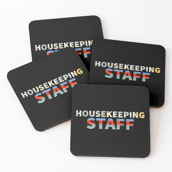 Housekeeping staff Coasters (Set of 4)