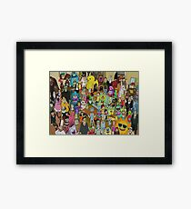 Rick and Morty - Where's Rick  Framed Print