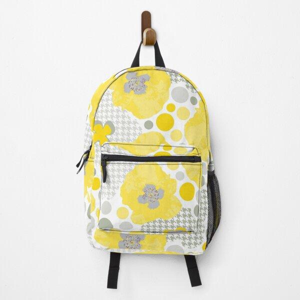 Oriental Yellow Poppy Garden Backpack