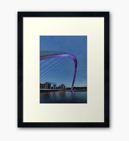Millenium Pink Framed Print