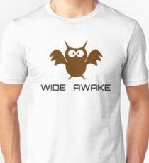 Cute Little Owl Night Life Wide Awake Katy Perry Audioslave Song Lyrics T-Shirt