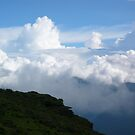 Monsoon clouds over Chelela pass by Istvan Hernadi