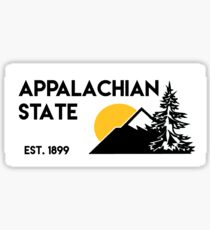Appalachian State 2 Sticker