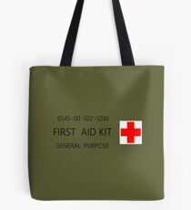 First Aid Kit Decal - US Army stylings Tote Bag