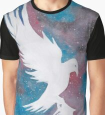 dove and grenade galaxy  Graphic T-Shirt