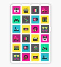 80's Icons Sticker