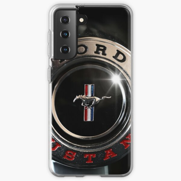 ford mustang, steering wheel Samsung Galaxy Soft Case