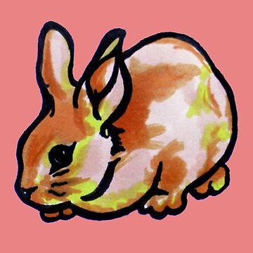 Little fierce bun-bun by michli