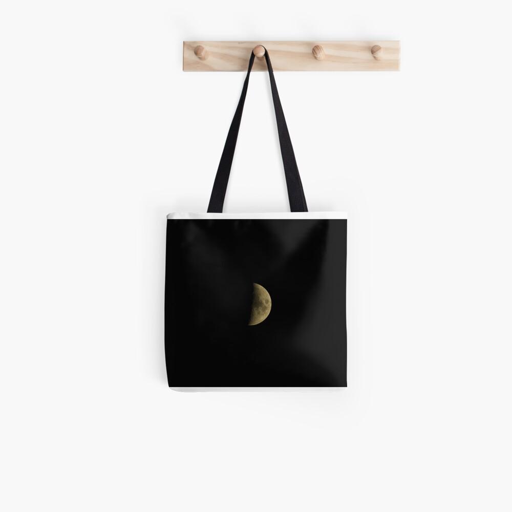 Moon over Bolzano/Bozen, Italy Tote Bag
