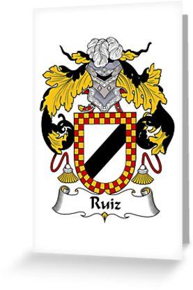 Ruiz Coat of Arms/Family Crest by William Martin