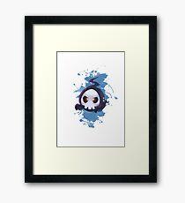 Skull Cute Framed Print