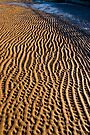 Patterns in the sand by Geoff Carpenter