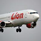Lion Air airplane by bayu harsa