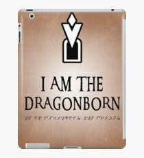 DRAGONBORN Skyrim iPad Case/Skin
