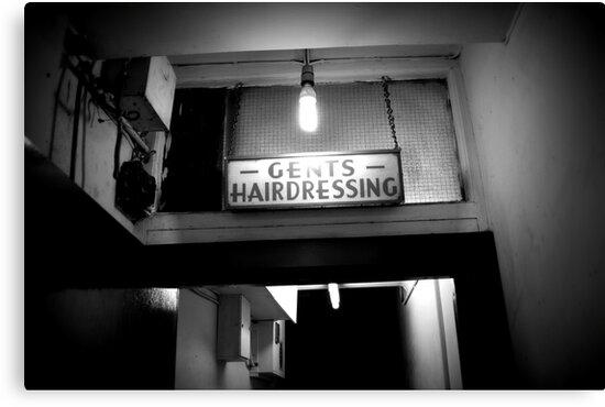 Gents Hairdressing - Soho, London by Ed Sweetman