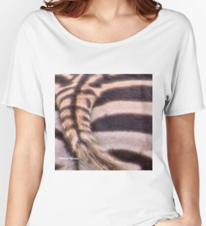 ZEBRA IDENTIDY Women's Relaxed Fit T-Shirt