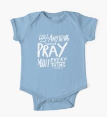 Dont Worry, Pray x Rose One Piece - Short Sleeve