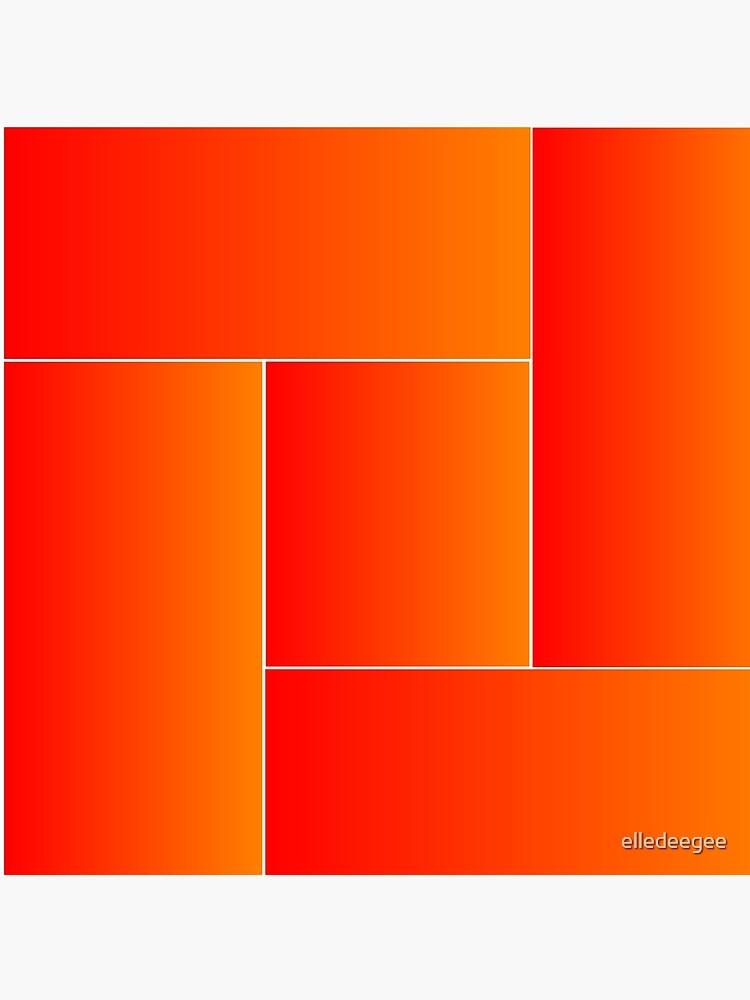 Red Weaving by elledeegee